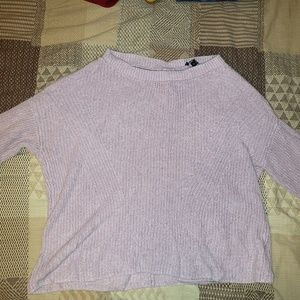 Express Sweater with circle cut out